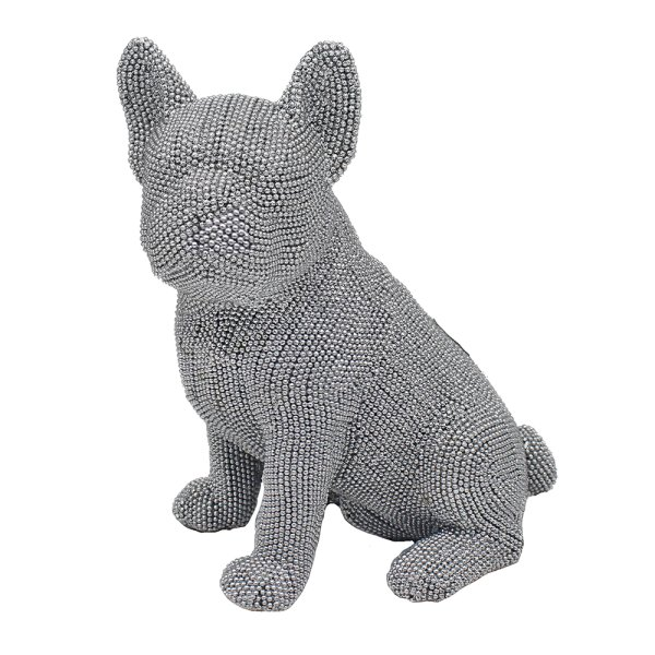 SILVER ART FRENCHIE SITTING