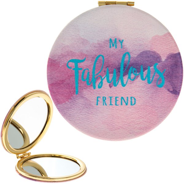 FABULOUS FRIEND COMPACT MIRROR