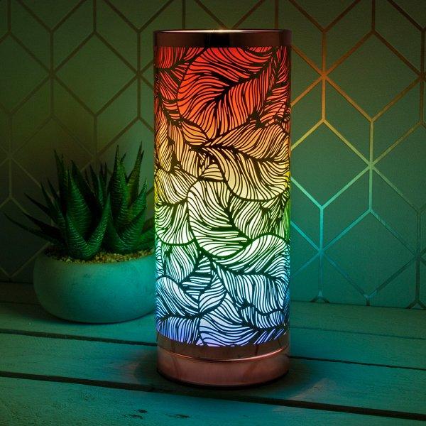 DESIRE LEAFMETALTOUCH LAMP COL