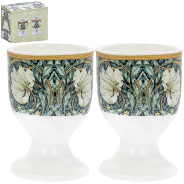 W MORRIS PIMPERNEL EGG CUPS