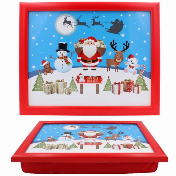 CHRISTMAS LITTLE STARS LAPTRAY