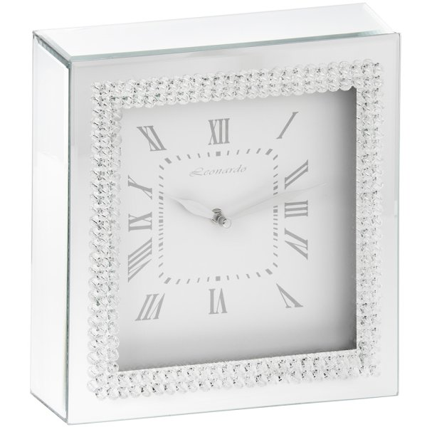 DOUBLE DIAMOND CLOCK