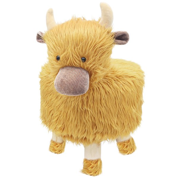HIGHLAND COW STOOL