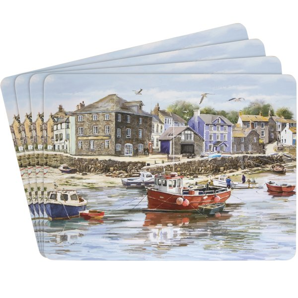 OLD HARBOUR PLACEMATS SET 4