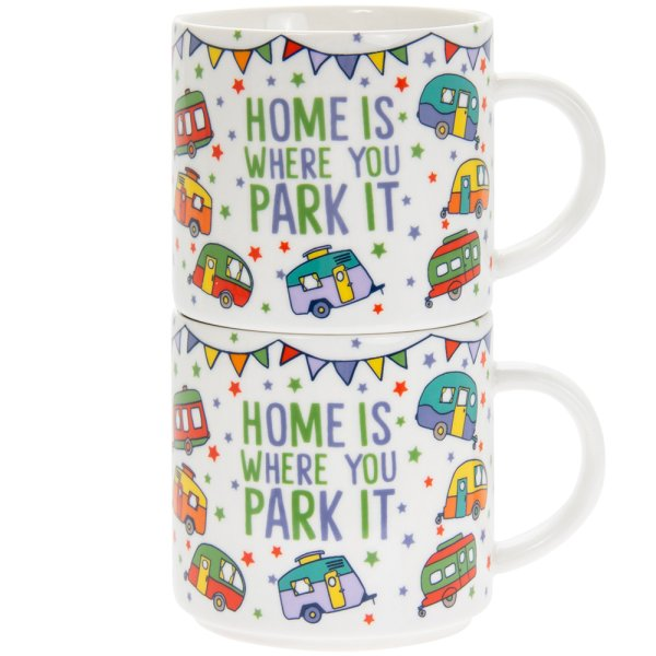 HOMEISWHERECARAVANSTACKMUG2S