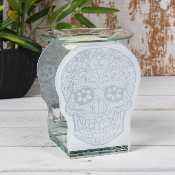 SKULL WAX/OIL WARMER