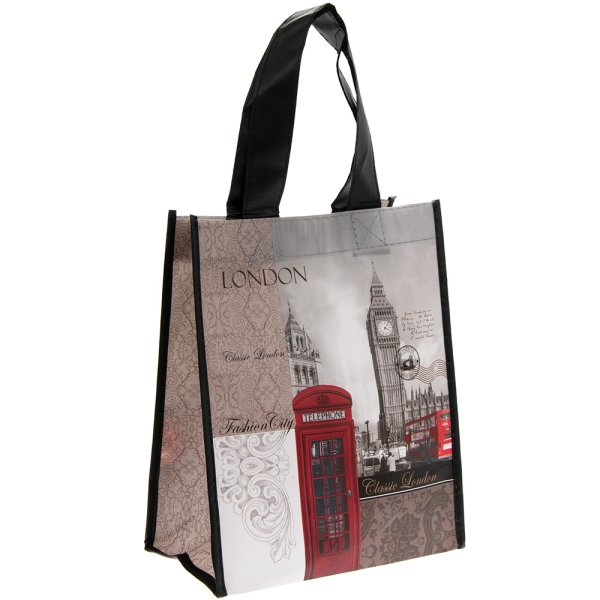 NEW LONDON SHOPPING BAG SMALL