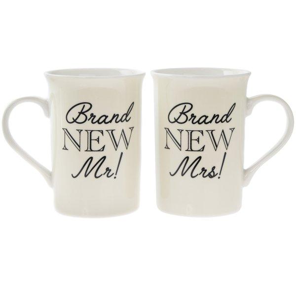 BRAND NEW MR&MRS MUGS SET2