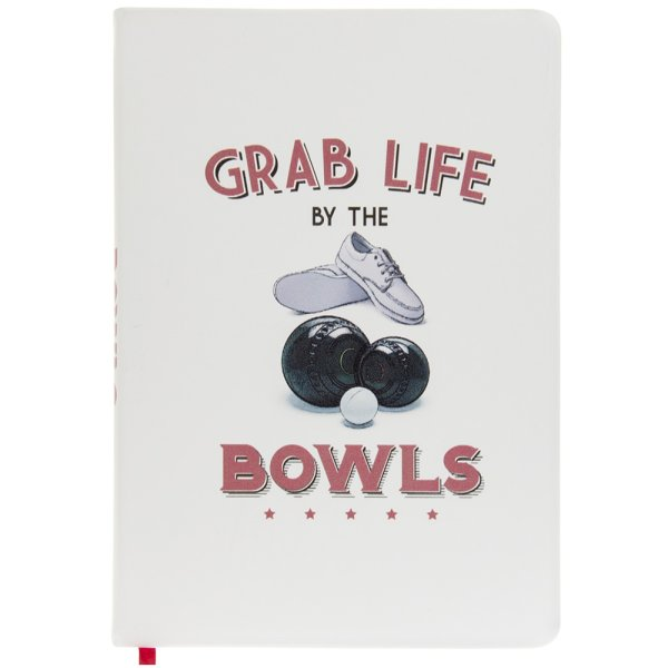 BOWLS NOTEBOOK A5