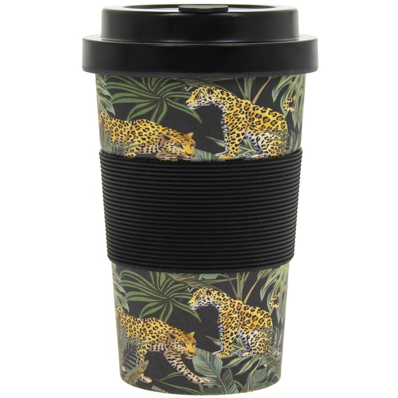 JUNGLE FEVER BAMBOO TRAVEL MUG