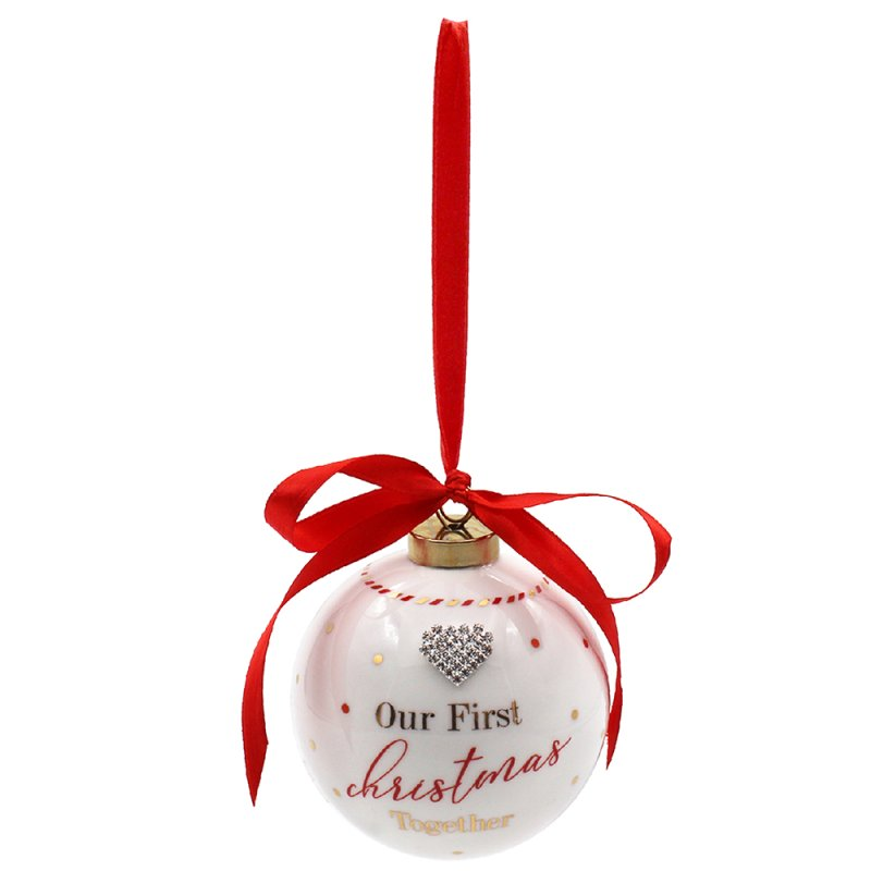 MAD DOTS 1ST XMAS BAUBLE