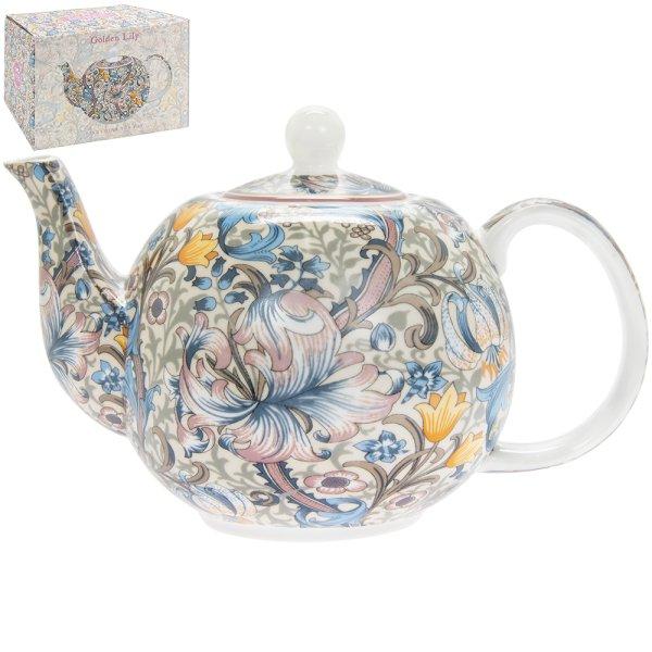 GOLDEN LILY TEA POT