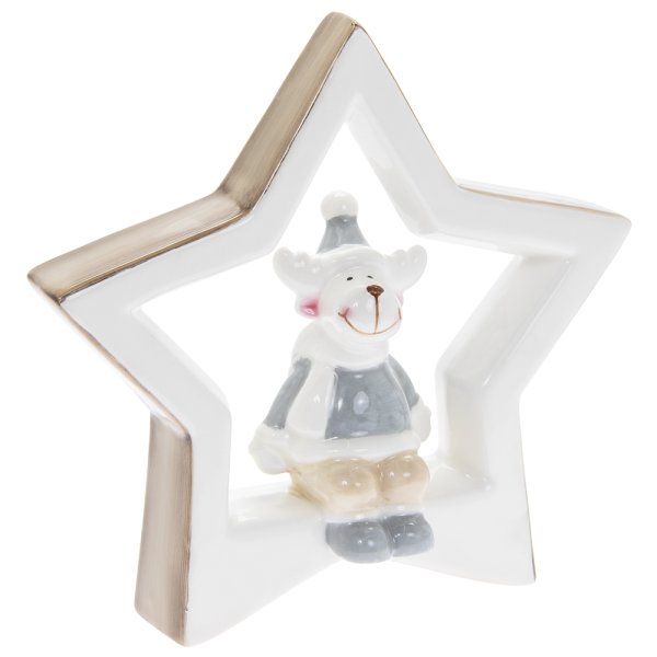 REINDEER WITH STAR L