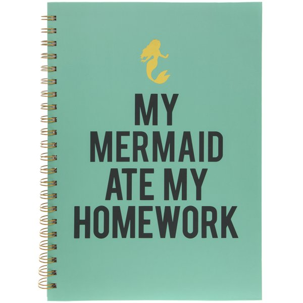 MERMAID NOTEBOOK A4