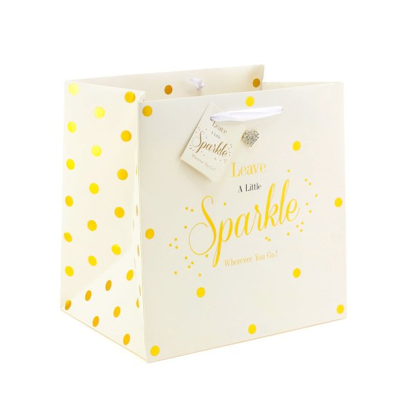 MAD DOTS SPARKLE GIFT BAG MED