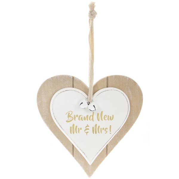 TWIN HEART BRAND NEW MR&MRS