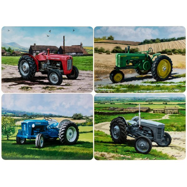 TRACTORS PLACEMATS S/4
