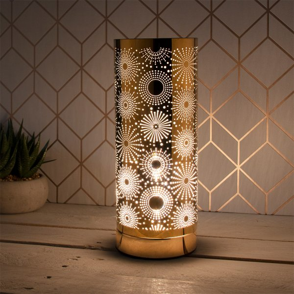 DESIRE SPARKLE LAMP GOLD