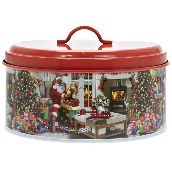 SANTA CANISTER LARGE