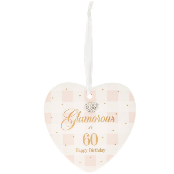 MAD DOTS 60TH HEART PLAQUE