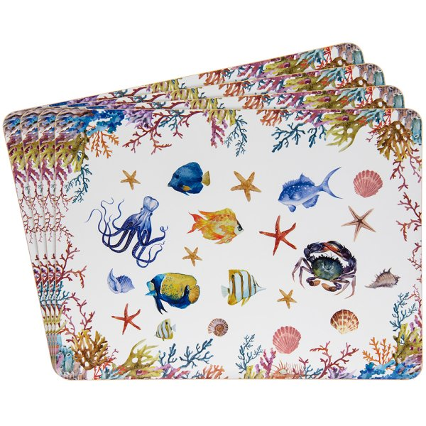 SEALIFE PLACEMATS S/4
