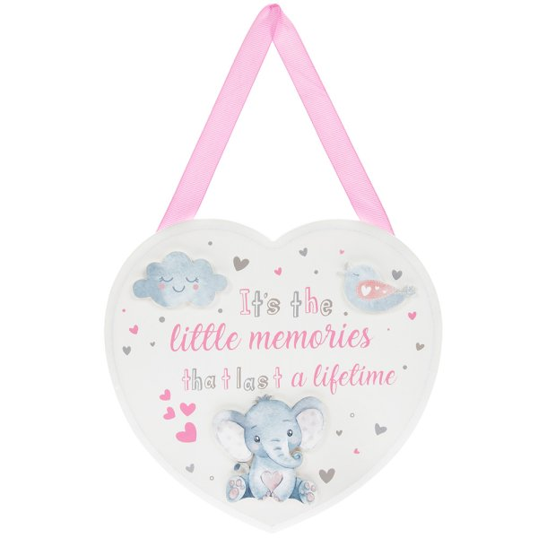 BIRD & ELLIE PLAQUE PINK