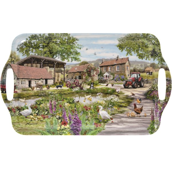FARMYARD LARGE TRAY