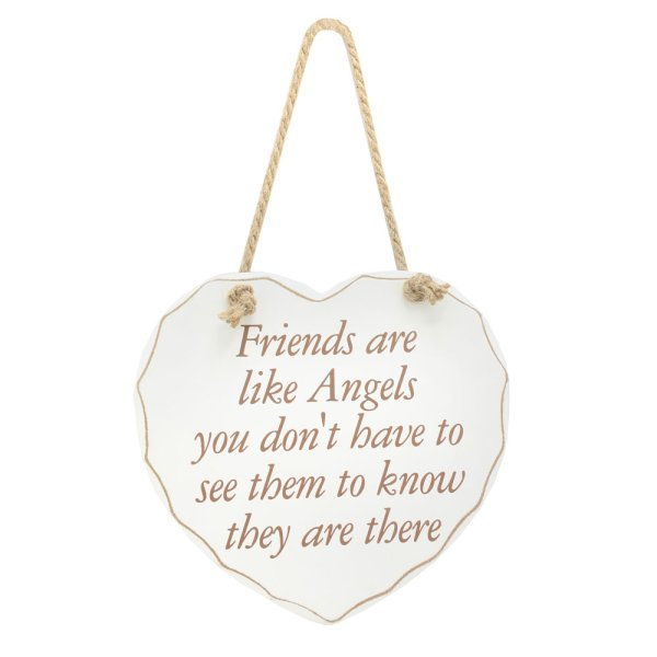 FRIENDS LIKE ANGELS PLAQUE