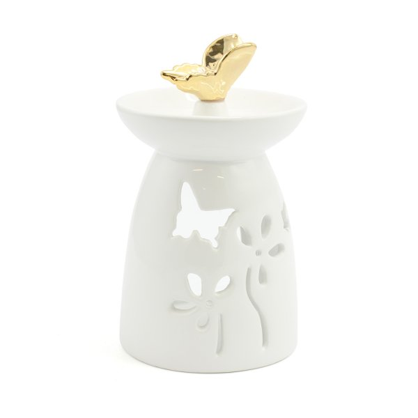 GOLD BUTTERFLY OIL BURNER