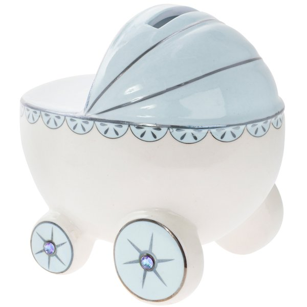 BLUE PRAM MONEY BANK