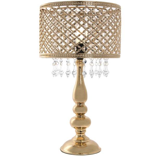 GOLD CHANDELIER LAMP