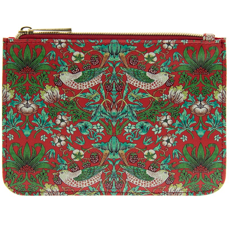 S BERRY THIEF PURSE RED