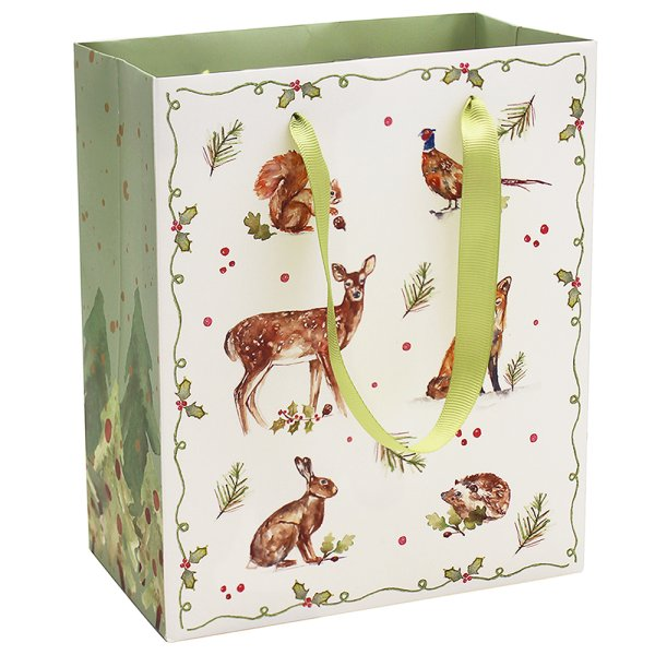 WINTER FOREST GIFT BAG LGE