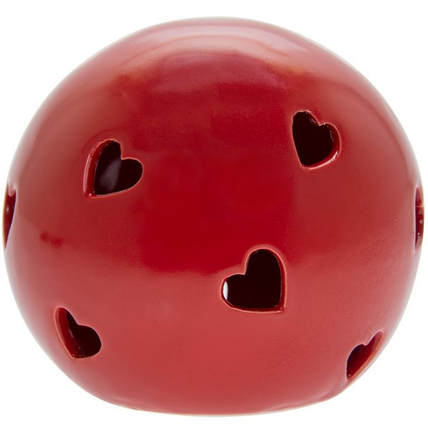 RED HEART LED BALL L
