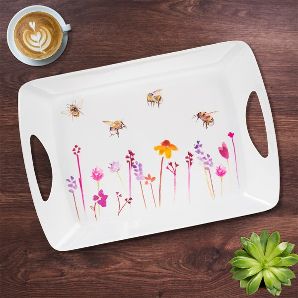 BUSY BEES LARGE TRAY