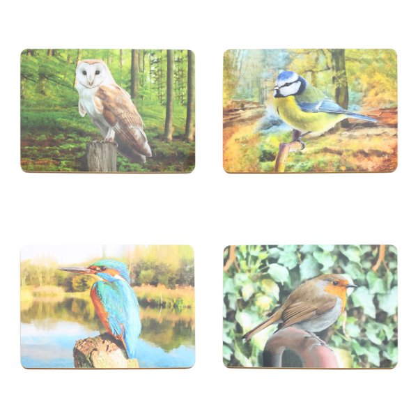 BIRD PLACEMATS SET OF 4