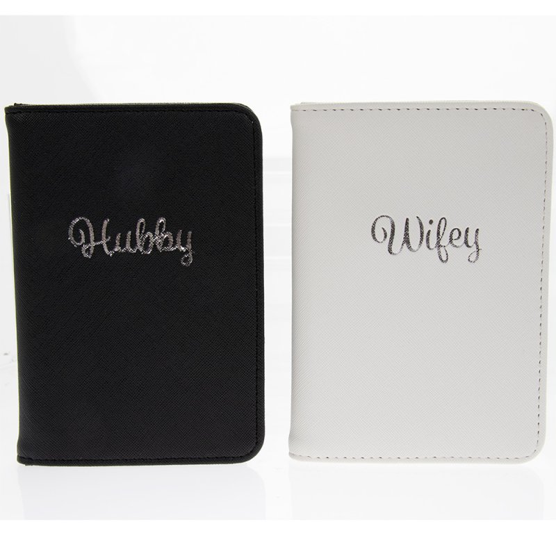 HUBBY & WIFEY PASSPORTS