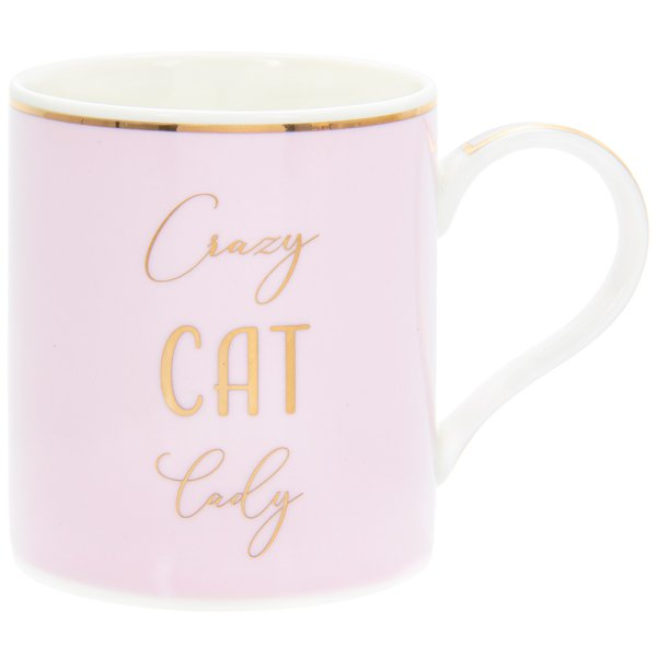 LETS PARTY CAT LADY MUG