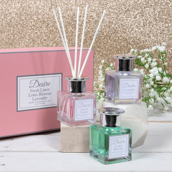 FLORAL DIFFUSER SET OF 3 50ML