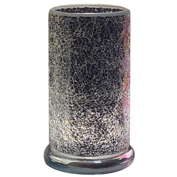 BLACK MOSAIC LED TOUCH LAMP