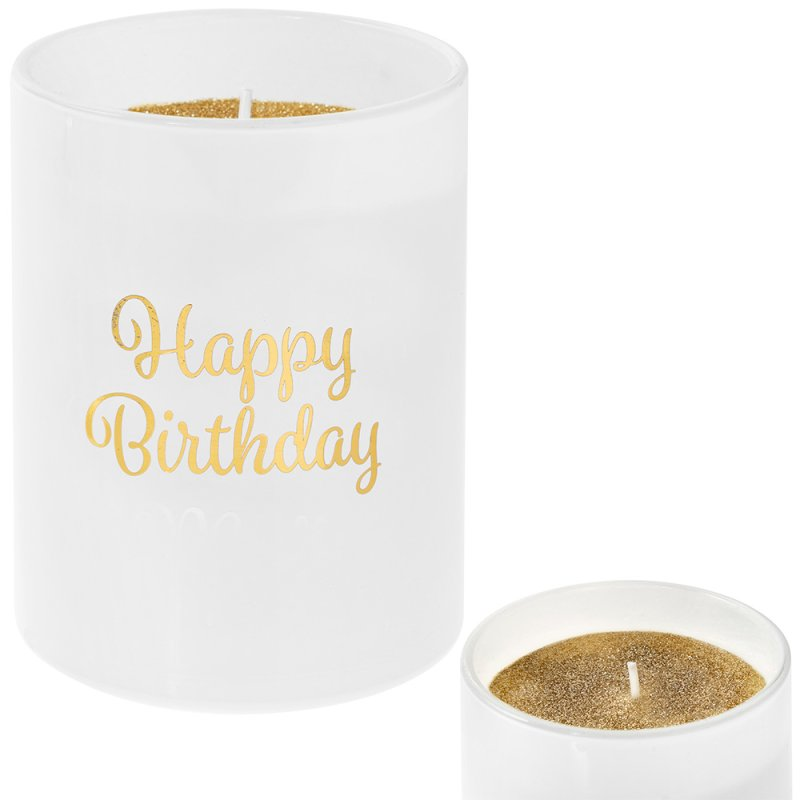 DESIRE HAPPY BIRTHDAY CANDLE