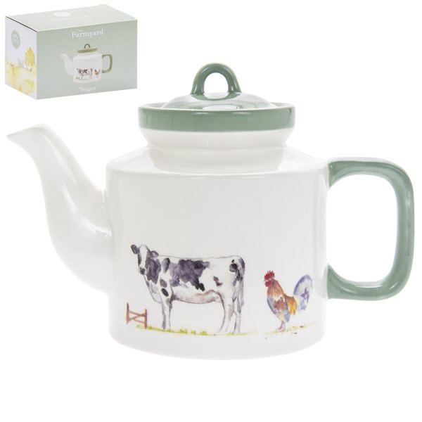 COUNTRY LIFE FARM TEAPOT