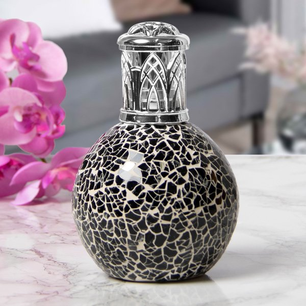 FRAGRANCE LAMP BLACK MOSAIC