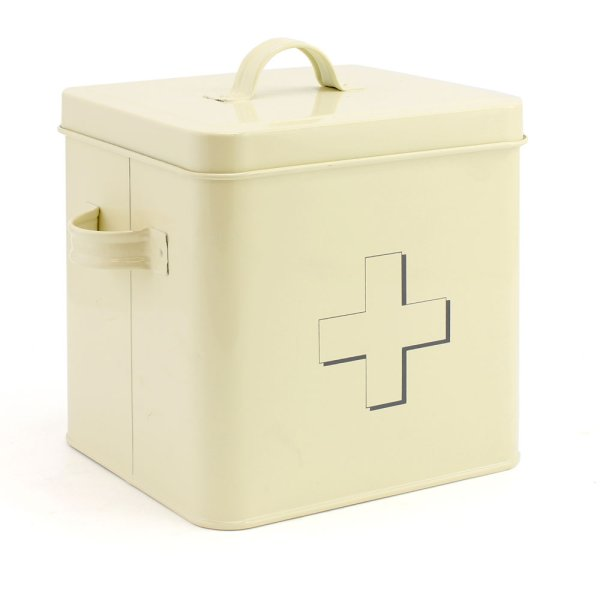 HOME SWEET CREAM FIRST AID BOX
