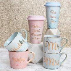 Gold Edition Marble Mugs... on Social Media!