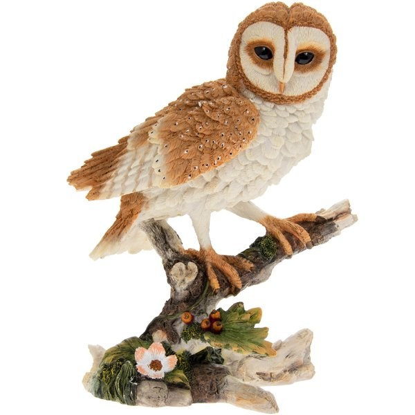 RESIN LARGE BARN OWL