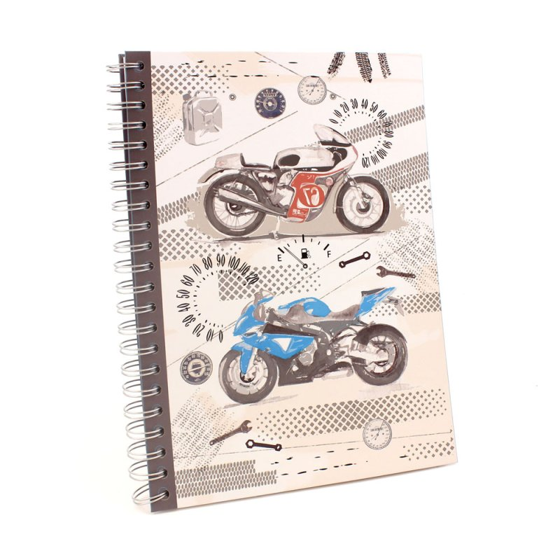 PIT STOP A4 NOTEBOOK - BIKES