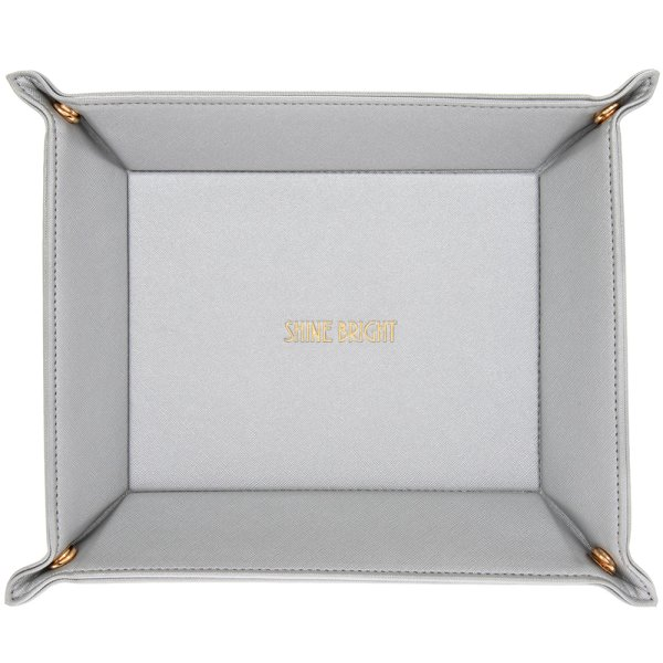 SHINE BRIGHT SILVER TRAY