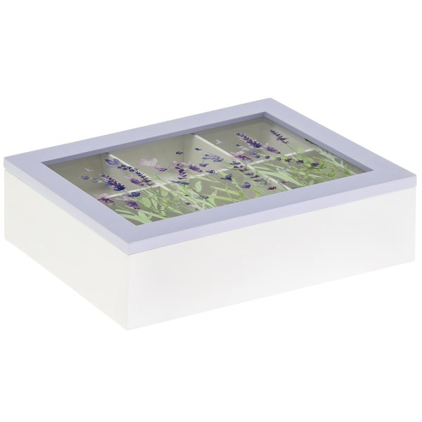 LAVENDER TEA BOX