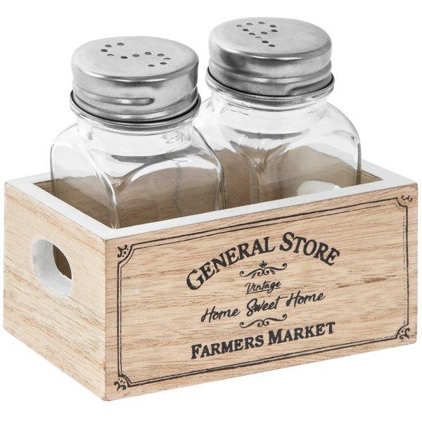 FARMERS MARKET SALT & PEPPER